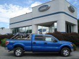 2012 Blue Flame Metallic Ford F150 XLT SuperCrew 4x4 #67011889