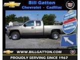 2012 Graystone Metallic Chevrolet Silverado 1500 LS Extended Cab #67012592