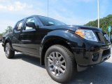 Super Black Nissan Frontier in 2012