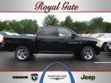 2012 Black Dodge Ram 1500 Sport Crew Cab 4x4 #67011865