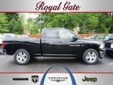 2012 Black Dodge Ram 1500 SLT Quad Cab 4x4 #67012541