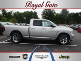 2012 Bright Silver Metallic Dodge Ram 1500 Sport Quad Cab 4x4 #67012540