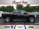 2012 Black Dodge Ram 1500 SLT Crew Cab 4x4 #67012539