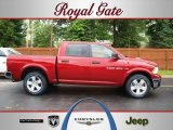 2012 Deep Cherry Red Crystal Pearl Dodge Ram 1500 SLT Crew Cab 4x4 #67012536