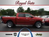 2012 Deep Cherry Red Crystal Pearl Dodge Ram 1500 SLT Crew Cab 4x4 #67012535
