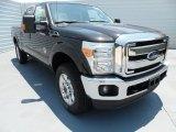 2012 Tuxedo Black Metallic Ford F250 Super Duty Lariat Crew Cab 4x4 #67012178