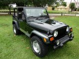2000 Jeep Wrangler Black