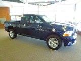 2012 True Blue Pearl Dodge Ram 1500 Express Quad Cab 4x4 #67012394