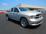 2012 Bright Silver Metallic Dodge Ram 1500 Express Quad Cab #67012391