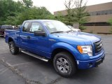 2012 Blue Flame Metallic Ford F150 STX SuperCab 4x4 #67012055