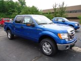 2012 Blue Flame Metallic Ford F150 XLT SuperCrew 4x4 #67012054