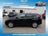 2012 Crystal Black Pearl Honda CR-V EX 4WD #67073822