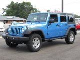 2010 Jeep Wrangler Unlimited Surf Blue Pearl