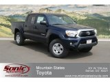 2012 Nautical Blue Metallic Toyota Tacoma V6 Double Cab 4x4 #67073630