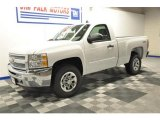 2012 Summit White Chevrolet Silverado 1500 LT Regular Cab 4x4 #67073887