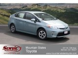 2012 Sea Glass Pearl Toyota Prius 3rd Gen Two Hybrid #67073612