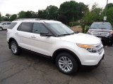 2013 White Platinum Tri-Coat Ford Explorer XLT 4WD #67073709