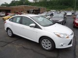 2012 Oxford White Ford Focus SE Sedan #67073701