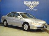 2002 Satin Silver Metallic Honda Accord EX V6 Sedan #67097461
