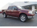 2006 Dark Toreador Red Metallic Ford F150 Lariat SuperCrew 4x4 #67104161