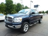 2007 Patriot Blue Pearl Dodge Ram 1500 Big Horn Edition Quad Cab 4x4 #67104158