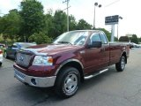 2006 Dark Toreador Red Metallic Ford F150 XLT Regular Cab 4x4 #67104156