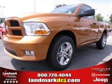 2012 Tequila Sunrise Pearl Dodge Ram 1500 Express Regular Cab #67104141