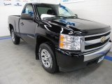2008 Black Chevrolet Silverado 1500 Work Truck Regular Cab 4x4 #67104356