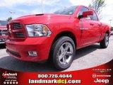 2012 Flame Red Dodge Ram 1500 Sport Quad Cab #67104139