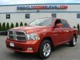 2009 Sunburst Orange Pearl Dodge Ram 1500 Sport Crew Cab 4x4 #67104569