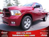 2012 Deep Cherry Red Crystal Pearl Dodge Ram 1500 Express Quad Cab #67104131