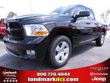 2012 Black Dodge Ram 1500 Express Quad Cab #67104129
