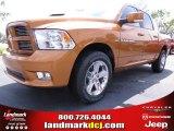 2012 Tequila Sunrise Pearl Dodge Ram 1500 Sport Crew Cab #67104128