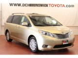 2011 Sandy Beach Metallic Toyota Sienna Limited #67104532
