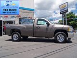 2012 Mocha Steel Metallic Chevrolet Silverado 1500 LS Regular Cab 4x4 #67104069