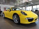 2012 Porsche New 911 Carrera S Cabriolet