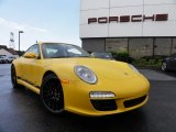 2012 Porsche 911 Speed Yellow