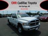 2004 Bright White Dodge Ram 3500 SLT Quad Cab 4x4 #67104284