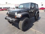 2012 Black Jeep Wrangler Rubicon 4X4 #67104258