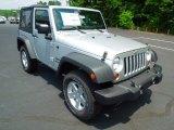 2012 Bright Silver Metallic Jeep Wrangler Sport S 4x4 #67104426