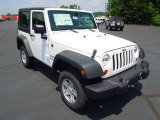 2012 Bright White Jeep Wrangler Sport 4x4 #67104424