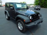 2012 Black Jeep Wrangler Rubicon 4X4 #67104421