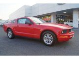 2007 Torch Red Ford Mustang V6 Deluxe Coupe #67104162