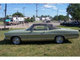 Lime Gold Ford Galaxie in 1967
