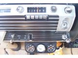 1967 Ford Galaxie 500 Convertible Controls