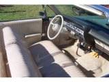 1967 Ford Galaxie 500 Convertible Parchment Interior