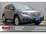 2012 Polished Metal Metallic Honda CR-V EX #67147083