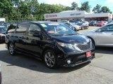 2011 Black Toyota Sienna SE #67147068
