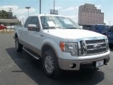 2010 Oxford White Ford F150 Lariat SuperCab 4x4 #67146981