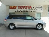 2012 Silver Sky Metallic Toyota Sienna LE #67146963